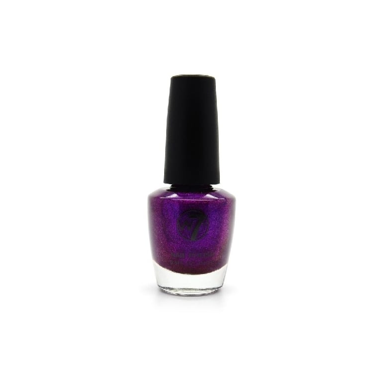 W7 Cosmetics Nail Polish - 106 Purple Rain.