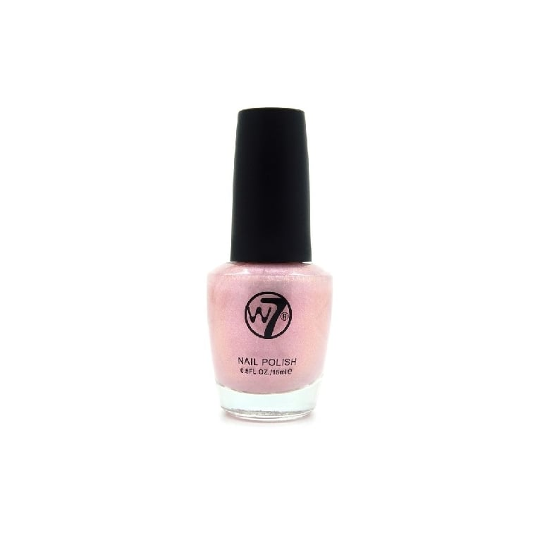 W7 Cosmetics Nail Polish - 107 Pink Pearl.
