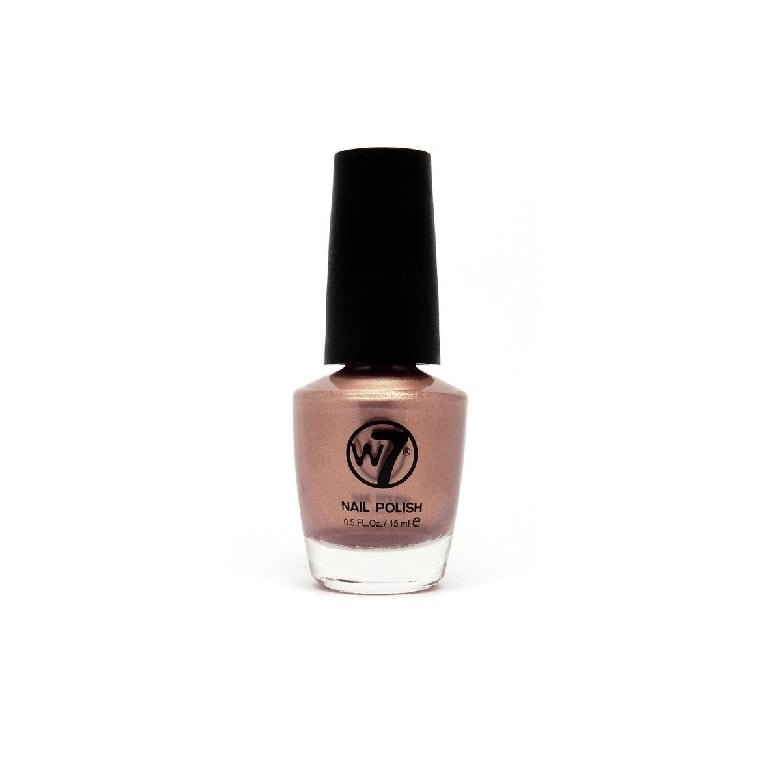 W7 Cosmetics Nail Polish - 108 Mocha Light.