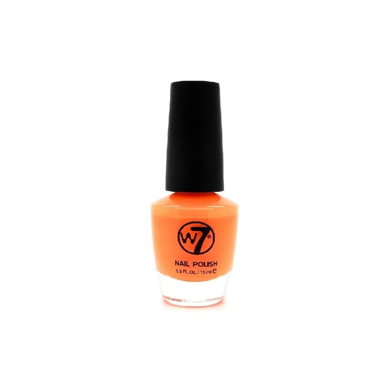 W7 Cosmetics Nail Polish - 113 Matt Orange.