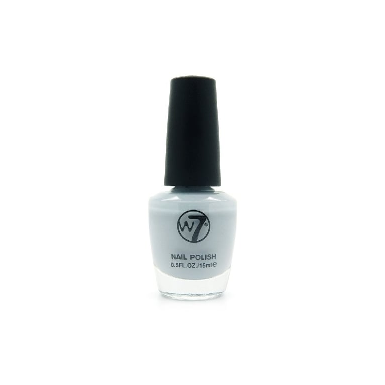 W7 Cosmetics Nail Polish - 144 Powder Grey.