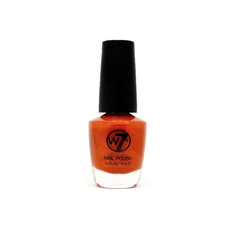 W7 Cosmetics Nail Polish - 83 Orange Fizz.