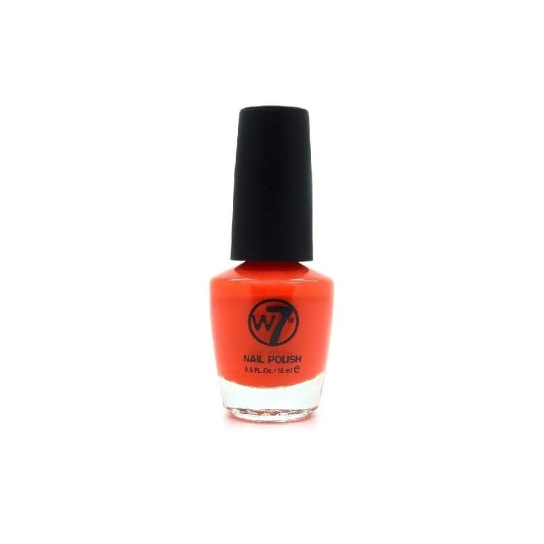W7 Cosmetics Nail Polish - 84 Orange Flame.