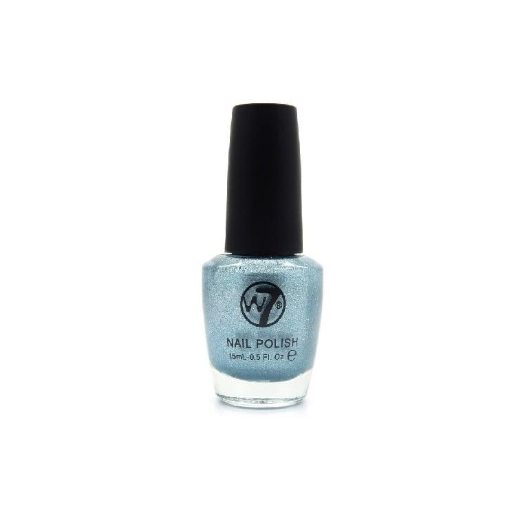 W7 Cosmetics Nail Polish - 93 Blue Mirror.