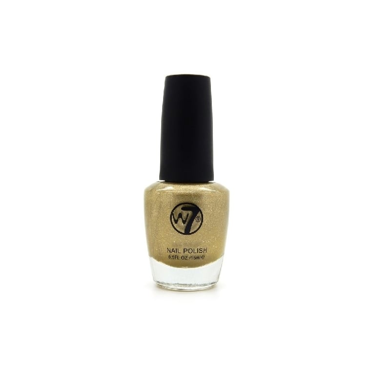 W7 Cosmetics Nail Polish - 94 Gold Mirror.