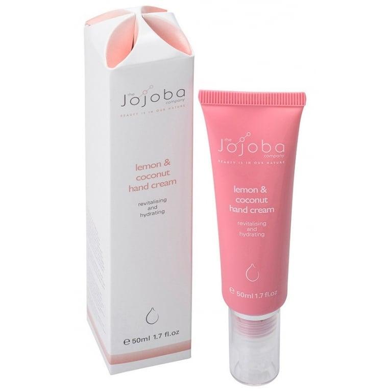 Jojoba The Jojoba Company 100% Natural Lemon and Coconut Hand Cream 50ml.