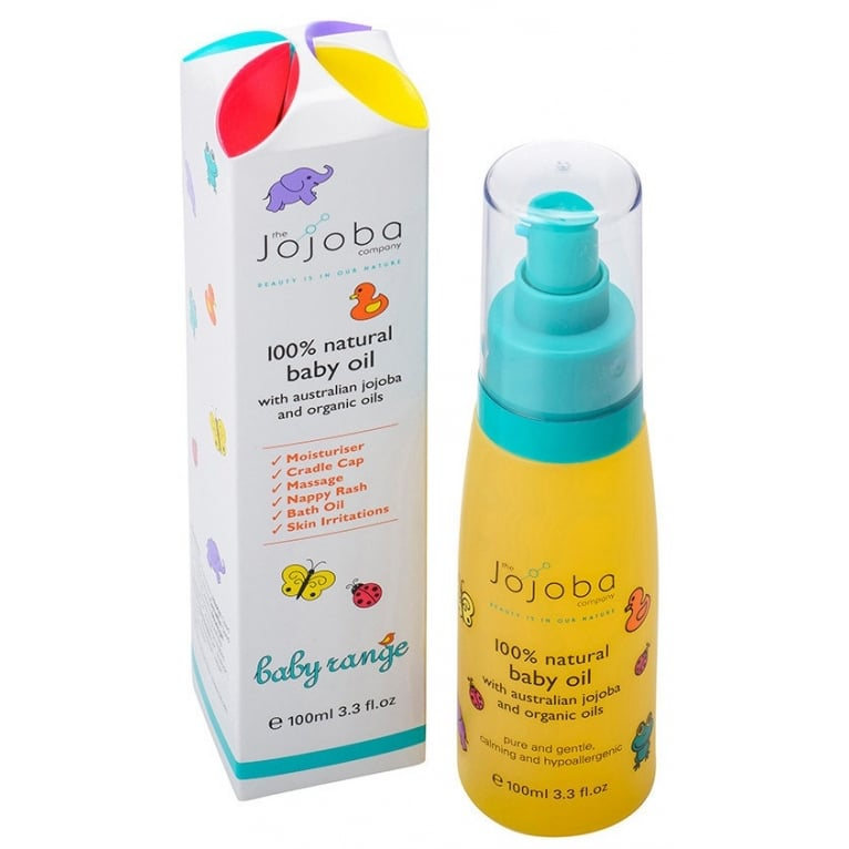 Jojoba The Jojoba Company 100% Natural Baby Oil - 100ml.