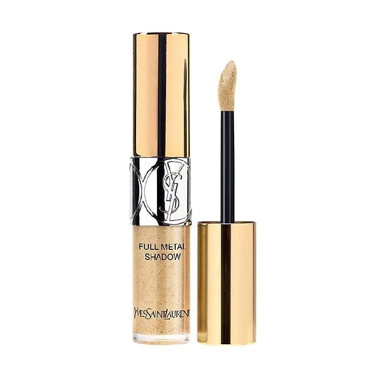 Yves Saint Laurent Full Metal Liquid Eyeshadow - No8 Dewy Gold.
