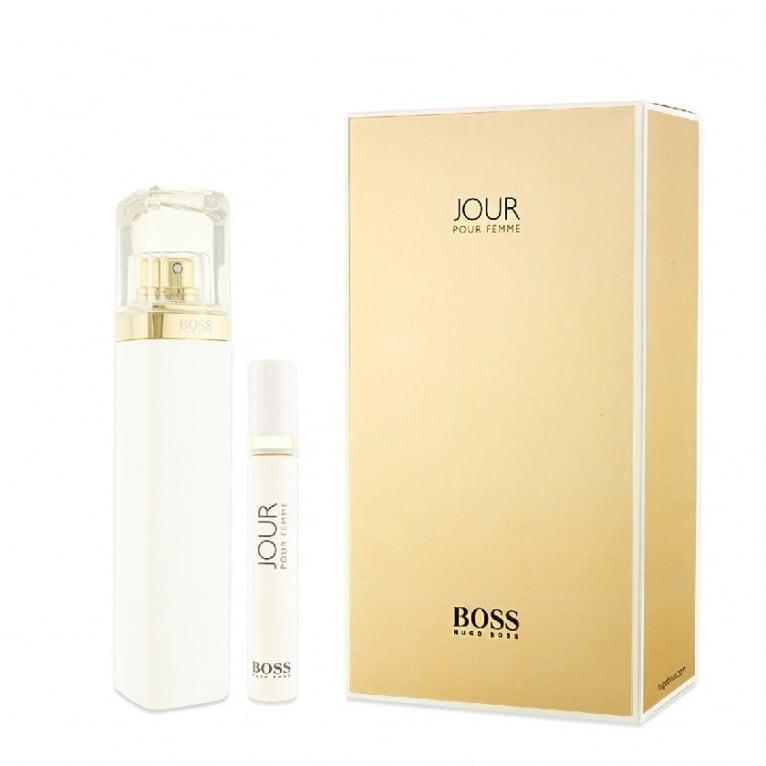 Hugo Boss Jour Pour Femme - 75ml Gift Set With 7.4ml Mini Purse Spray.
