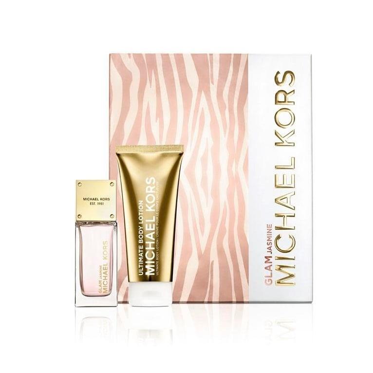 Michael Kors Glam Jasmine - 50ml EDP Gift Set With 100ml Ultimate Body Lotion.