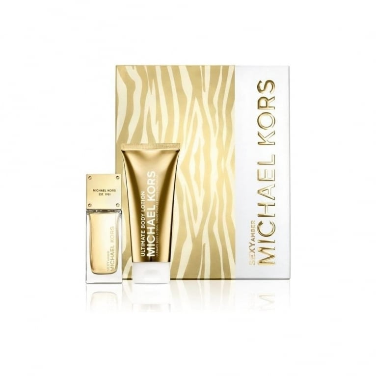 Michael Kors Sexy Amber - 50ml EDP Gift Set With 100ml Body Lotion.