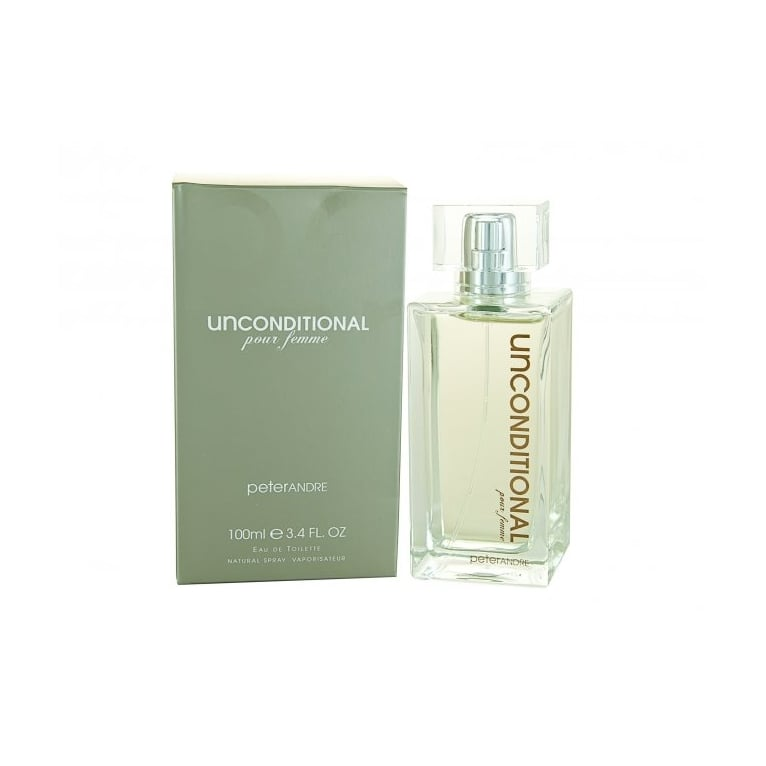 Peter Andre Unconditional Pour Femme - 100ml Eau De Toilette Spray.