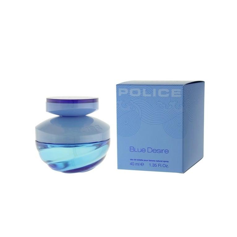 Police Blue Desire Pour Femme - 40ml Eau De Toilette Spray.