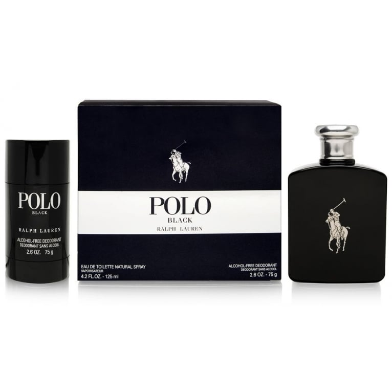 Beckham Ralph Lauren Polo Black - 125ml Gift set and 75ml Deodorant Stick.