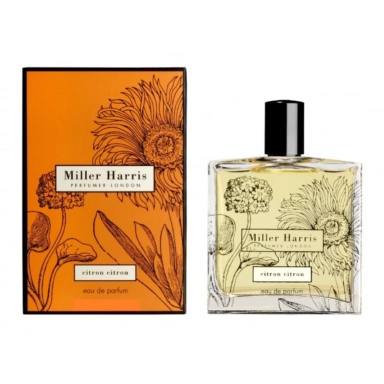 Miller Harris Citron Citron Unisex - 100ml Ea uDe Parfum Spray.