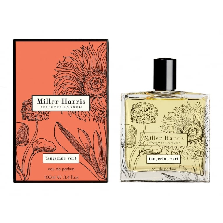 Miller Harris Tangerine Vert Unisex - 50ml Eau De Parfum Spray.