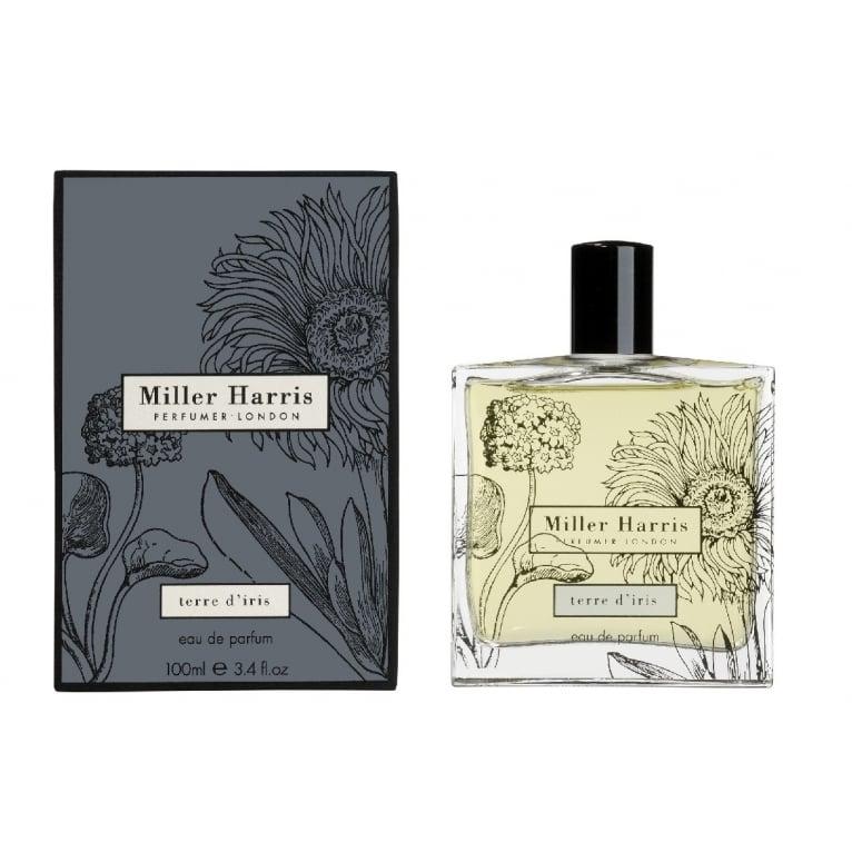 Miller Harris Terre d'iris Pour Femme - 50ml Eau De Parfum Spray.