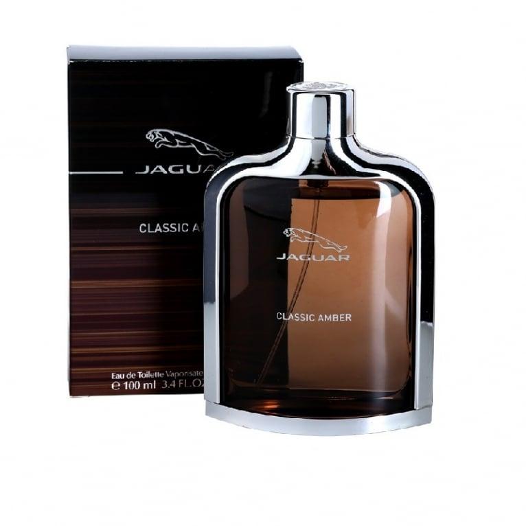Jaguar Classic Amber - 100ml Eau De Toilette Spray.