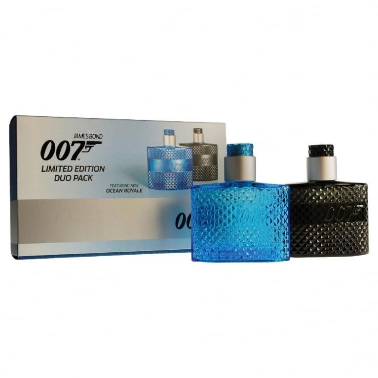 James Bond 007 Duo Gift Set For Men - 1 x 30ml James Bond 007 + 1 x Ocean Royale