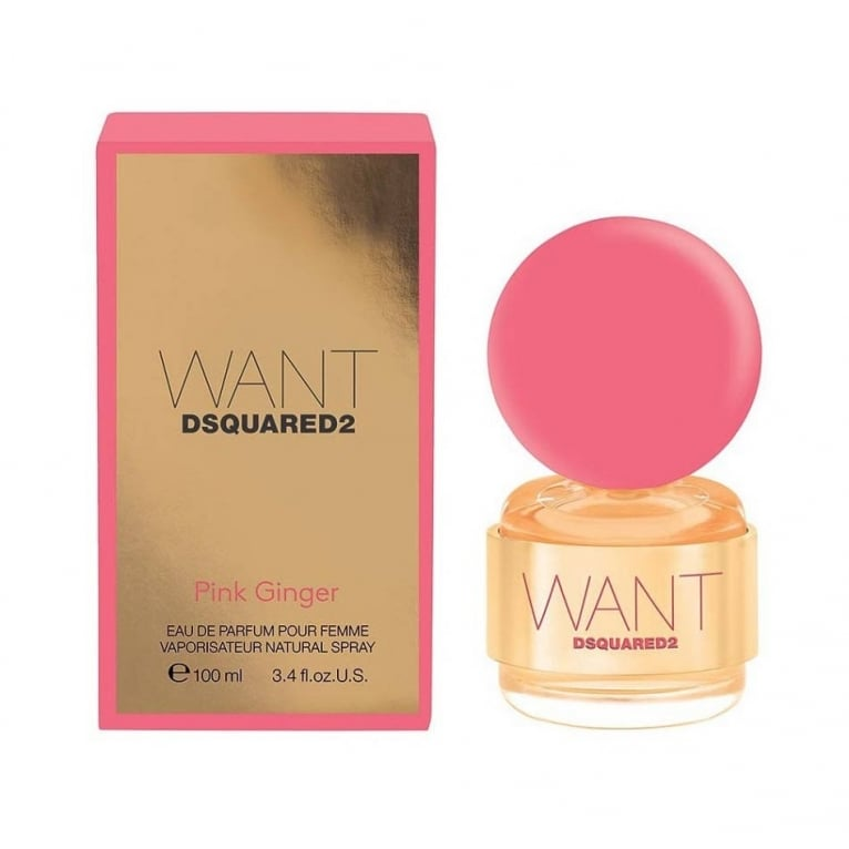 DSquared2 Want Pour Femme - 100ml Eau De Parfum Spray.
