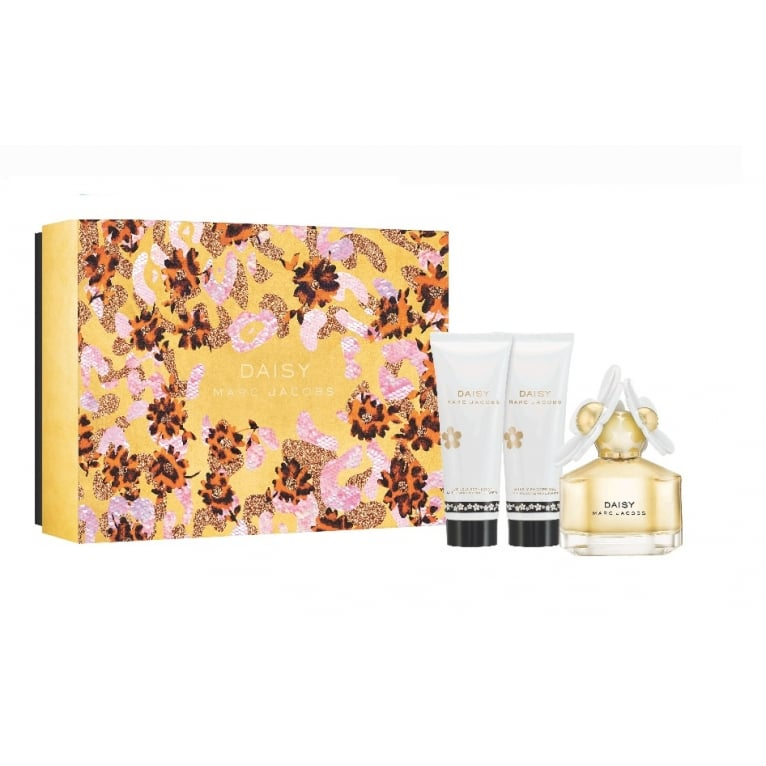 Marc Jacobs Daisy - 50ml EDT Gift Set With Body Lotion and Shower Gel.