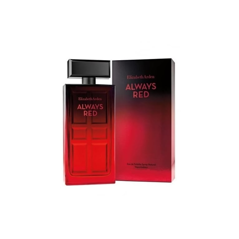Elizabeth Arden Always Red - 100ml Eau De Toilette Spray.