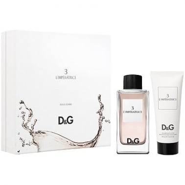 Dolce & Gabbana No3 L'Imperatrice - 100ml Gift Set and Vanity Case