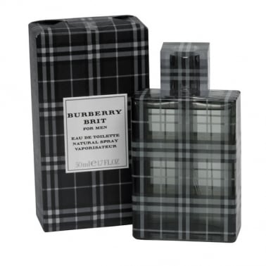 Burberry Brit For Men - 50ml Eau De Toilette Spray