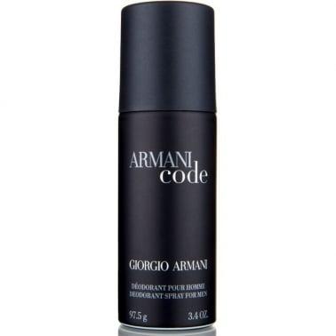Giorgio Armani Code - 150ml Deodorant Spray Pour Homme