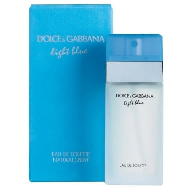 Dolce and Gabbana Light Blue - 50ml Eau De Toilette Spray.