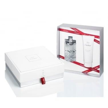 Cartier Eau De Cartier - 100ml EDT Gift Set With 100ml Shower Gel.