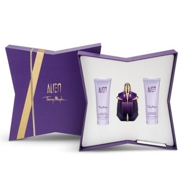 Thierry Mugler Alien - 30ml EDP Perfume Gift Set With Body Lotion and Shower gel
