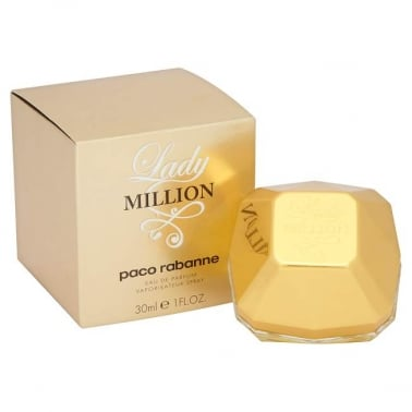 Paco Rabanne Lady Million - 30ml Eau De Parfum Spray