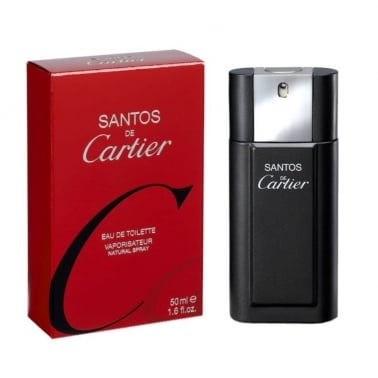 Cartier Santos For Men - 100ml Eau De Toilette Spray
