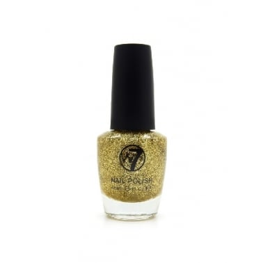 W7 Cosmetics Nail Polish - 6 Gold Dazzle