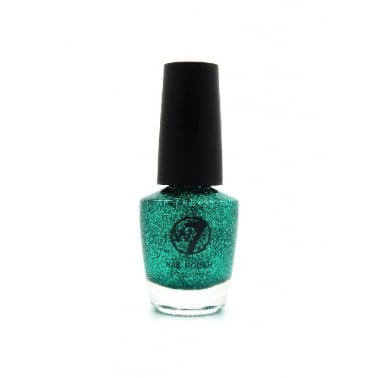 W7 Cosmetics Nail Polish - 8 Green Dazzle
