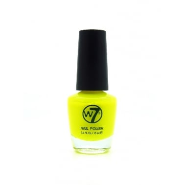 W7 Cosmetics Nail Polish - 16 Fluorescent Yellow