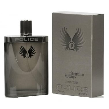 Police Titanium Wings - 100ml Eau De Toilette Spray.