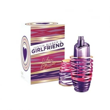 Justin Bieber Girlfriend - 100ml Eau De Parfum Spray.