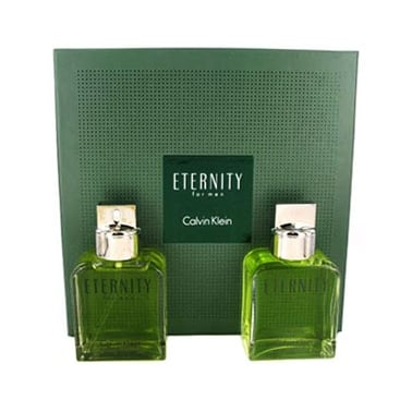 Calvin Klein Eternity - 100ml Edt Gift Set and 100ml Aftershave