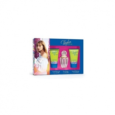 Taylor By Taylor Swift - 30ml Perfume Gift Set, With Body Lotion and Bath Gel.