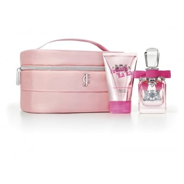 Juicy Couture Couture La La - 30ml Perfume Gift Set With 125ml Shower Gel.