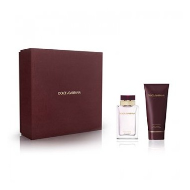 Dolce and Gabbana Pour Femme - 50ml Gift Set With Body Lotion.