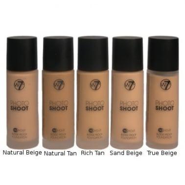 W7 Cosmetics Photo Shoot 16 Hour Smudge Proof Foundation - True Beige.