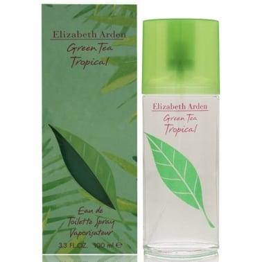 Elizabeth Arden Green Tea Tropical 100ml Eau De Toilette Spray.