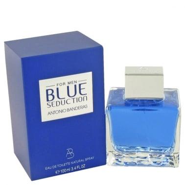 Antonio Banderas Blue Seduction For Men - 100ml Eau De Toilette Spray.