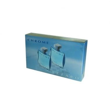 Azzaro Chrome -  Gift Set 2 x 30ml Eau De Toilette Spray