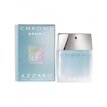 Azzaro Chrome Sport 50ml Eau De Toilette Spray.