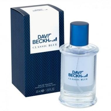 David Beckham Classic Blue - 40ml Eau De Toilette Spray.