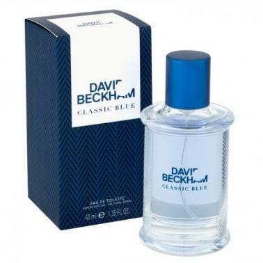 David Beckham Classic Blue - 90ml Eau De Toilette Spray.